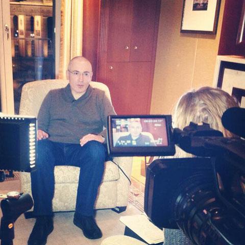 """Встреча Михаила Ходорковского с """"Дождём"""" в гостинице ADLON 22 декабря 2013 года"""