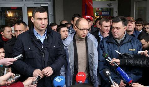 Украинская революция и полная политическая капитуляция Януковича